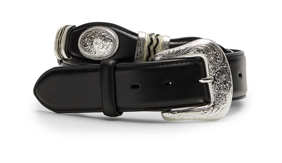 Image for TL MENS CUTTING CHAMP BELT-BLACK ; Style# 9113L