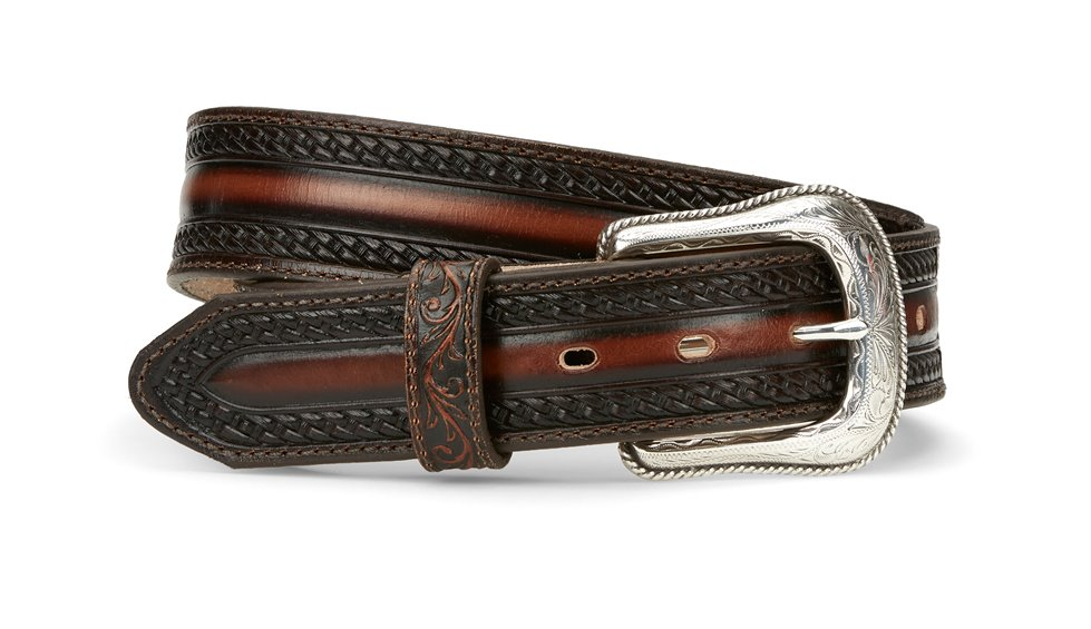 Image for TL MENS WILD BILL BELT-TAN ; Style# C42514