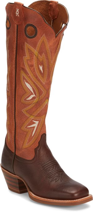 Orange Tony Lama Boots Magnolia Orange