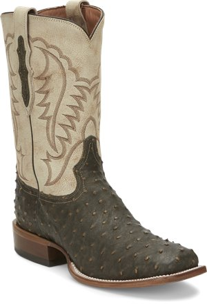 Brown Tony Lama Boots Augustus Saddle