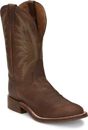 Brown Tony Lama Boots Conner Tabacco