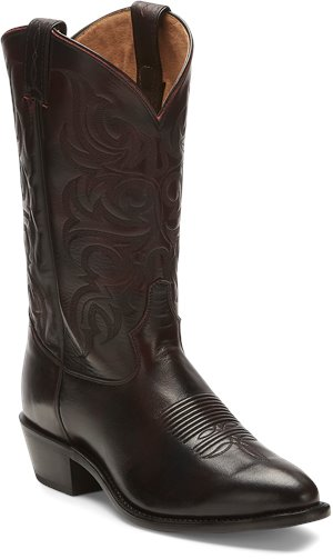 Dark Brown Tony Lama Boots Townes Black Cherry