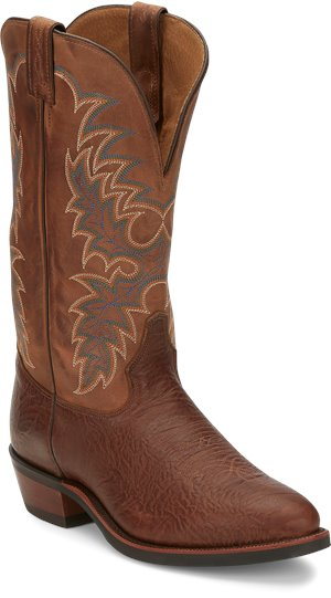 Medium Brown Tony Lama Boots Krauss Tan