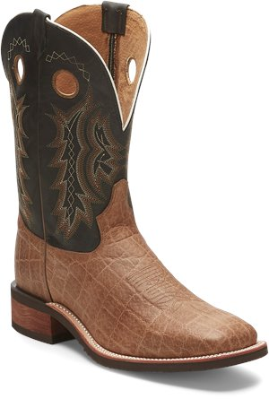Black/Tan Tony Lama Boots Creedance Green