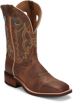 Light Brown Tony Lama Boots Creedance Brown