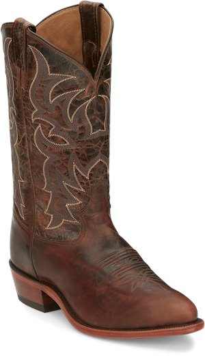 Rich Brown Tony Lama Boots Prine Dark Brown