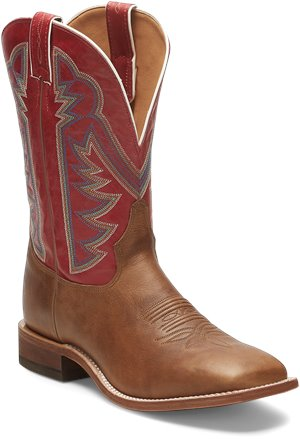 Red Tony Lama Boots Dylan Red