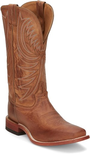 Soft Honey Tony Lama Boots Bingham Cognac