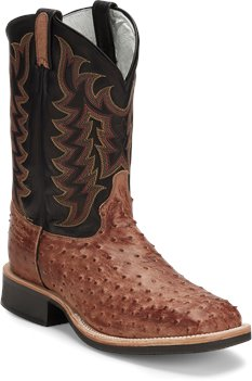 Light Brown Tony Lama Boots Chadron Black