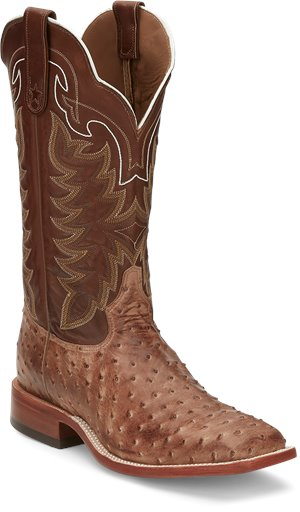 Tan  Tony Lama Boots Hays Chocolate