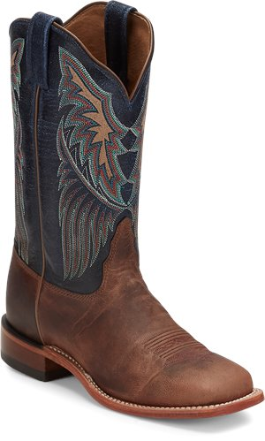 Royal Blue Tony Lama Boots Dava