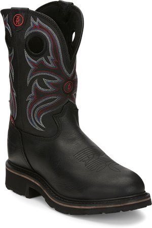 Black Grizzly Tony Lama Boots Snyder
