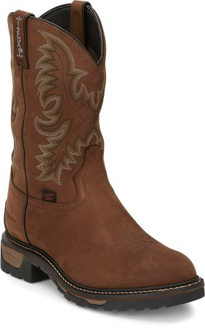 Tan Cheyenne Tony Lama Boots Harlingen Pullon