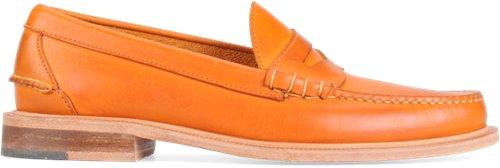 Bright Orange Full Grain Walk-Over Martin