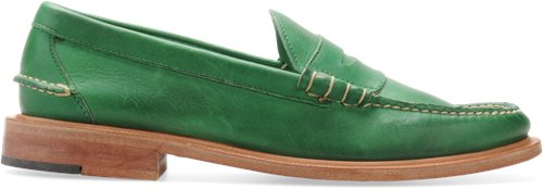 Kelly Green Full Grain Walk-Over Martin