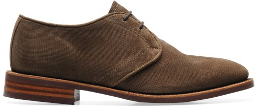 Havana Embossed Suede Walk-Over Whitman