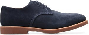 Navy Suede Walk-Over George