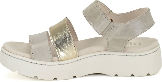 b9255f3499a3 Born Bastille in Porcellana Platino Metallic - Born Womens Sandals ...