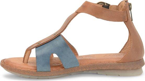 25e4467c9b41 Born Timina in Denim Cuoio - Born Womens Sandals on Shoeline.com