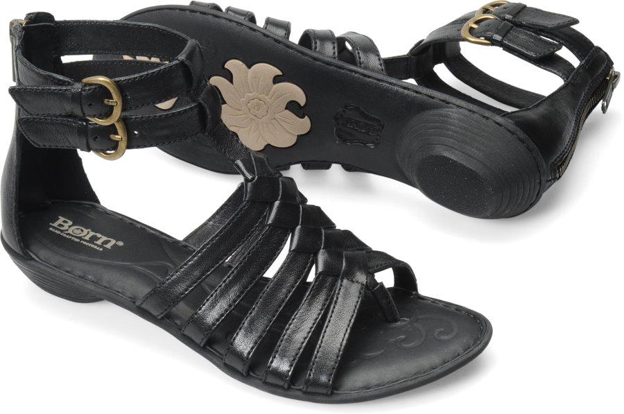 ea4414a65bac Born Nikka in Black - Born Womens Sandals on Shoeline.com