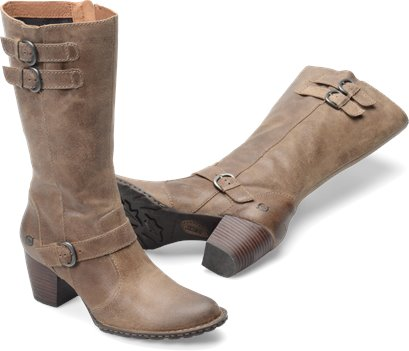 Taupe Suede Born Robyn