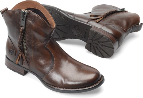 Cognac Burnished Born Gilly
