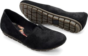Black Suede Born Sebra