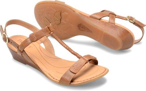 622dfb798e79 Born Douala in Cognac - Born Womens Sandals on Shoeline.com