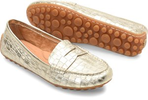 Natural Croc Metallic Born Malena