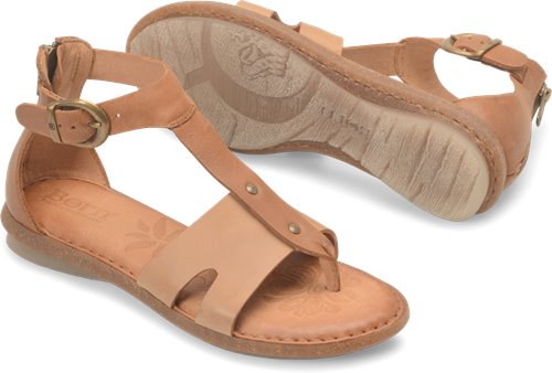 4c7af7bede1d Born Timina in Natural Cuoio - Born Womens Sandals on Shoeline.com