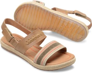 Light Brown Striped Combo Born Vigan