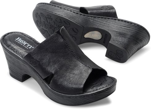 8b94e46882e9 Born Crato in Black - Born Womens Sandals on Shoeline.com