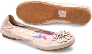 Light Pink Metallic Born Julianne Floral