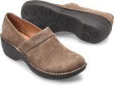 Born Toby Duo in Taupe Suede