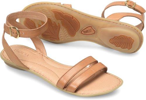 cb22c9af7e52 Born Mai Easy in Tan - Born Womens Sandals on Shoeline.com