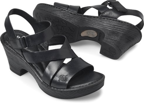 ca81b98ed7b5 Born Cubera in Black - Born Womens Sandals on Shoeline.com