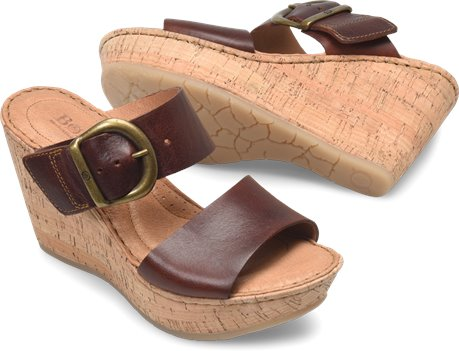 c2d5f41bb87 Born Emmy Band in Rust - Born Womens Sandals on Shoeline.com