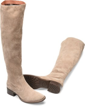 78a7f69977a Born Cricket in Taupe Suede - Born Womens Boots on Shoeline.com