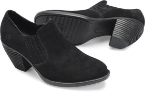 Black Suede Born Fredrika