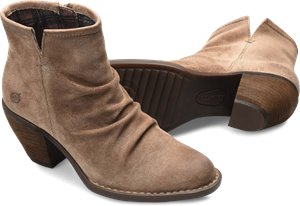 Taupe Suede Born Aire