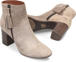 Taupe Suede Born Michie