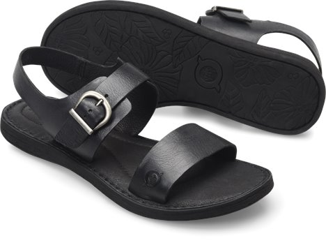2ba97a84a38 Born Selway in Black - Born Womens Sandals on Shoeline.com