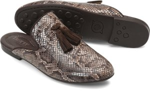 Brown Snake Print Born Corrin