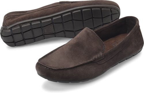 Dark Brown Suede Born Allan