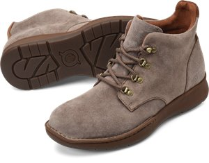 Taupe Brown Suede Combo Born Evros