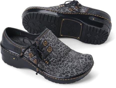 Black Leopard Suede Born Mattie