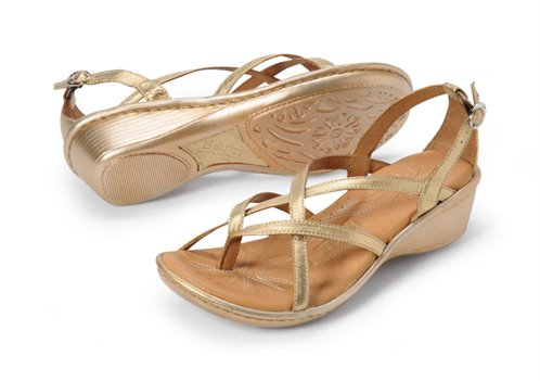 d295f5318603 Born Savory in Gold - Born Womens Sandals on Shoeline.com