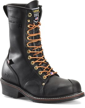 Black Carolina Linesman Steel Toe