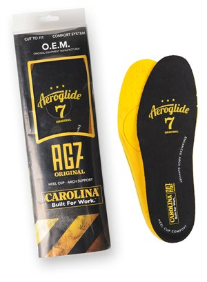 Multi Colors Carolina AG7 ESD X-STATIC FOOTBED