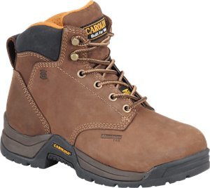 Medium Brown Carolina Womens 5 Inch Internal Metguard